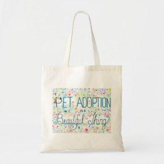 Älsklings- adoption är en härlig saktoto hänger budget tygkasse