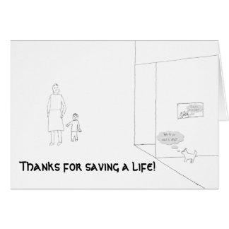 Älsklings- adoption skissar kortet hälsningskort