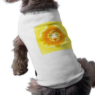 Älsklings- bekläda abstrakt sol hundtröja
