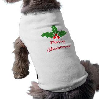 Älsklings- bekläda för god juljärneklöv för hund hundtröja