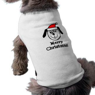 Älsklings- bekläda för god julSanta vovve för hund Husdjurströja