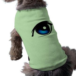 Älsklings- bekläda för tecknadöga t-shirt för husdjur