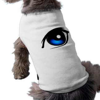 Älsklings- bekläda för tecknadöga långärmad hundtöja