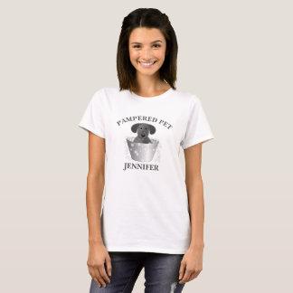 Älsklings- Groomer för personlig T Shirts