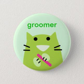 Älsklings- Groomer Standard Knapp Rund 5.7 Cm