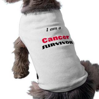 Älsklings- lag för hundcanceröverlevande husdjurströja