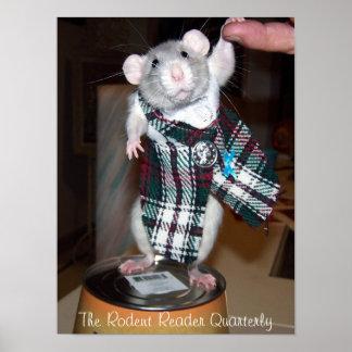 Älsklings- råttaRubyaffisch - Kilt Poster