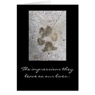 Älsklings- sympati OBS kort