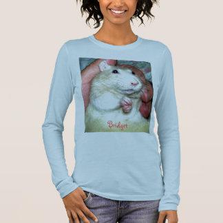 Älsklings- T-tröja för råttabroarlångärmad Tshirts