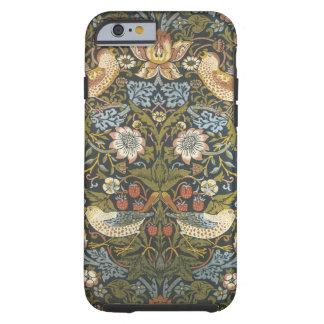 älskvärd blommigt och fåglar för vintagewilliam tough iPhone 6 fodral
