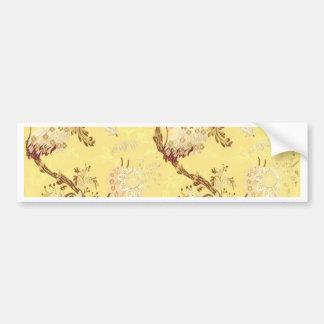 Älskvärd chic för asiatisk vintage för silkeskärmg bildekal