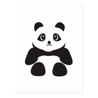 Älskvärd Pandabjörn Vykort