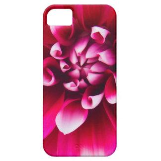 Älskvärd rosa- och vitblomma barely there iPhone 5 fodral