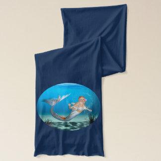 Älskvärd sjöjungfru sjal