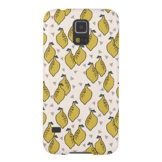 Älskvärda citroner - kräm/senap/Andrea Lauren Galaxy S5 Fodral