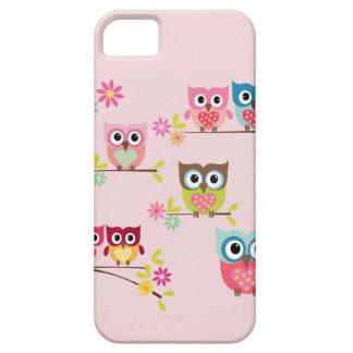 Älskvärda pastellfärgade ugglor - fodral för iPhon iPhone 5 Case-Mate Skydd