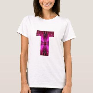 Älskvärt namn initial T TT TTT n l5At världen VETA T-shirt