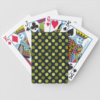 Älskvärt pricker mönster V Spelkort
