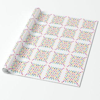 Älskvärt pricker mönster VIII Presentpapper