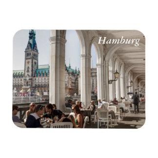 Alsterarkaden Hamburg, Tyskland Magnet