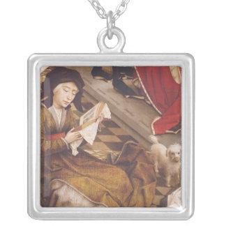 Altarpiecen 2 för sju Sacraments Silverpläterat Halsband