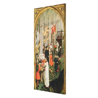 Altarpiecen för sju Sacraments Canvastryck