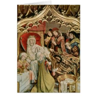 Altarpiecen för St. Elizabeth Hälsningskort