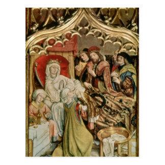 Altarpiecen för St. Elizabeth Vykort