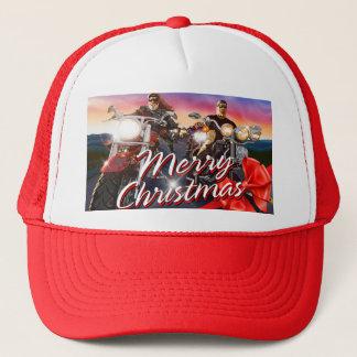Alternativ för hatt för god julbiker 1 truckerkeps