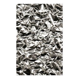 Aluminum Crinkle Brevpapper