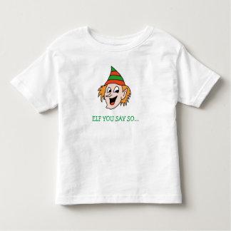 Älva dig rolig helgdagskjorta för något att säga tshirts