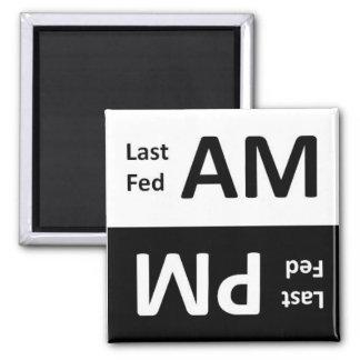AM-/PMhusdjur som matar påminnelsemagneten Magneter