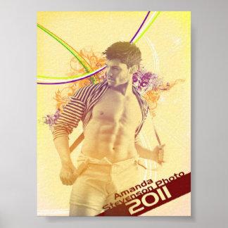 Amanda Stevenson Promoaffisch Poster