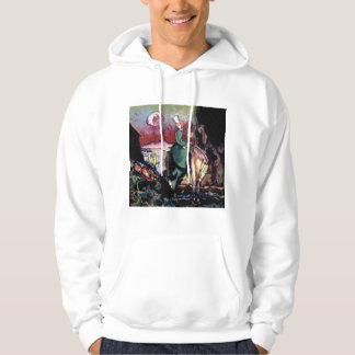 Amason 1917 sweatshirt med luva