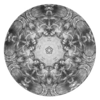 Amasonerna - en Kaleidoscope av älskvärda kvinnor Tallrik