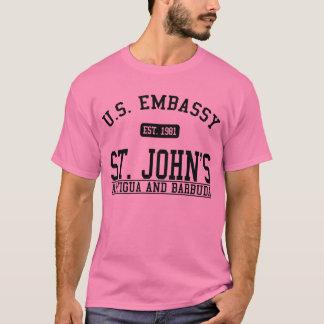 Ambassad St John, Antigua och Barbuda T Shirt