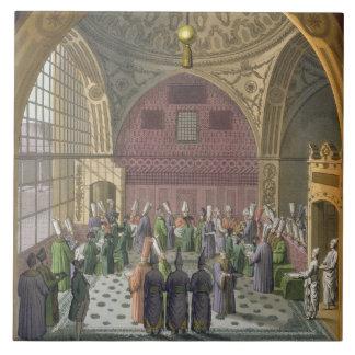 Ambassadörer i åhörarna Hall av den storslagna Viz Kakelplatta