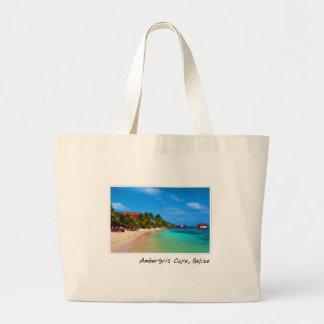 Ambergris Caye Belize reser destinationen Jumbo Tygkasse