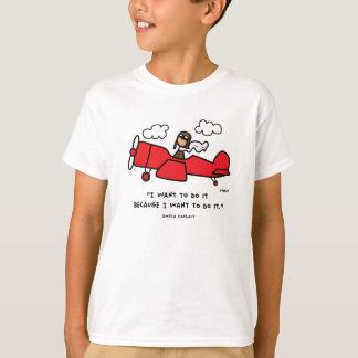 Amelia Earhart t-skjorta Tshirts