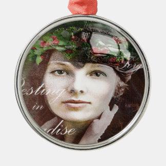 Amelia förlorade i paradis julgransprydnad metall