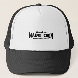 Amercain Maine Coon Truckerkeps