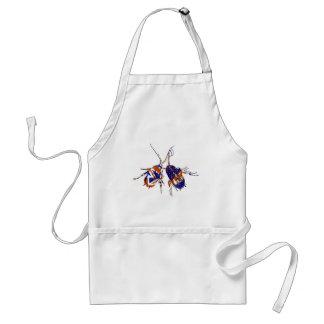 Ameri-Britt kackerlackor Förkläde