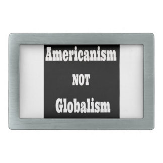 Americanism INTE Globalism