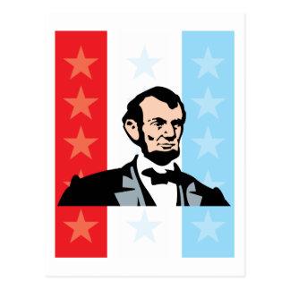 Amerika - Abraham Lincoln president United States Vykort