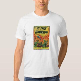 Amerika avfyrar under T-tröja T Shirts