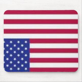 Amerika flagganödsignal Mousepad Musmatta