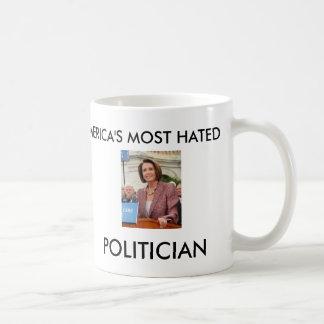 AMERIKA MEST HATADE POLITIKAR KAFFEMUGG