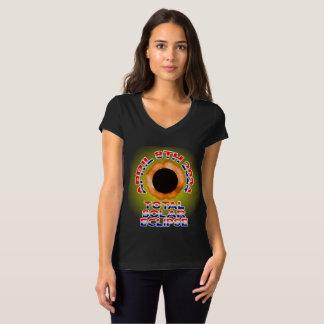 Amerika sol- förmörkelse t-shirt