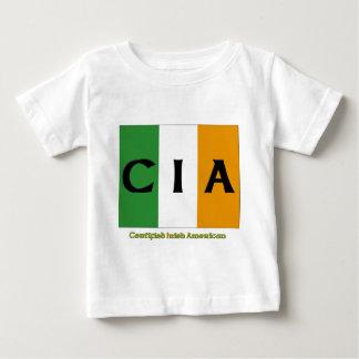 Amerikan för CIA-auktoriseradirländare T-shirts