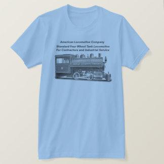 Amerikan Lokomotiv Företag 0-4-0 T T-shirts